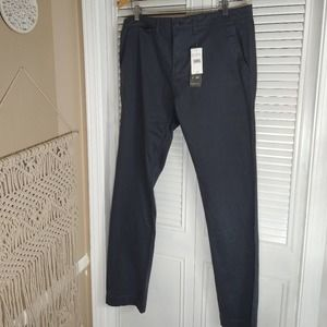 New Jachss Charcoal Straight Fit Stretch Bowie 36
